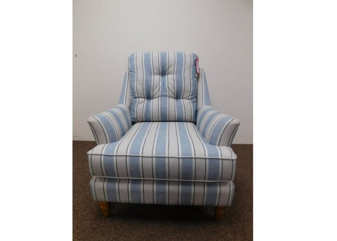 Wood Bros Upholstery Hemsby Armchair in  Factory Outlet image